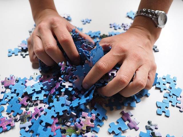 Pieces Of The Puzzle Mix Hands - Free photo on Pixabay (178141)