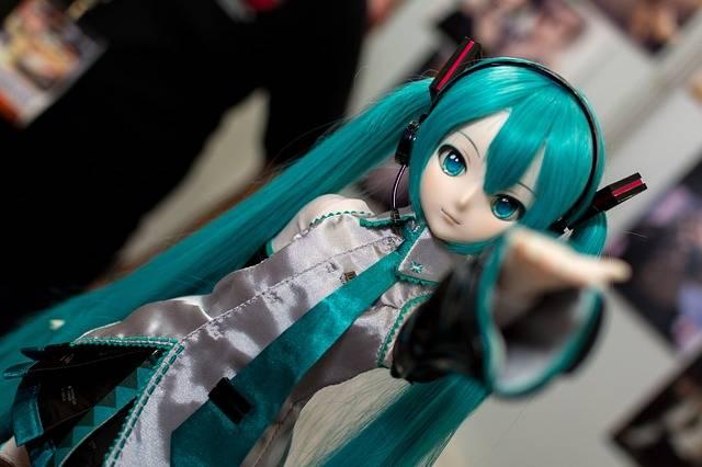 Hatsune Miku Doll Dollfie - Free photo on Pixabay (183935)