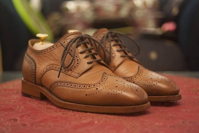Wingtip Dress Shoes Leather - Free photo on Pixabay (183992)