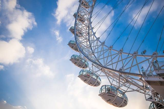 Ferris Wheel London Eye Attraction - Free photo on Pixabay (186849)