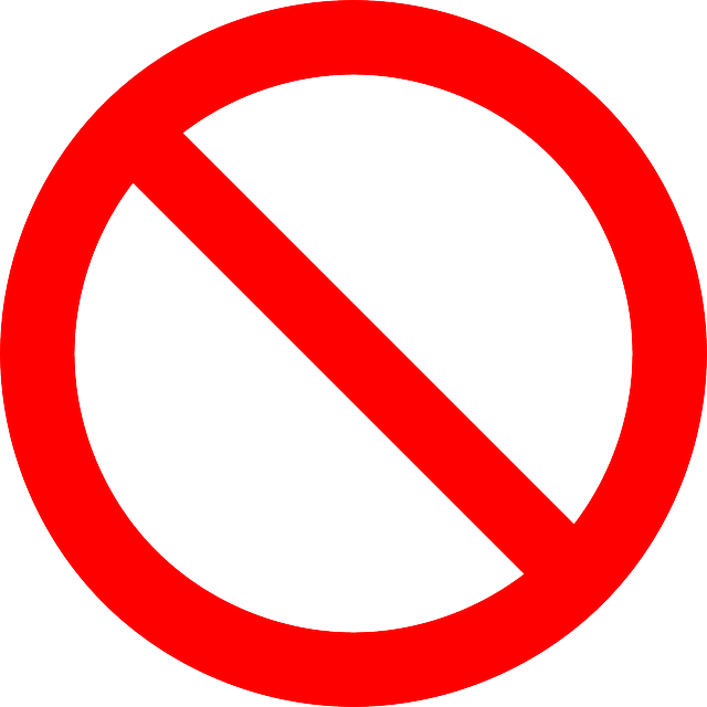 No Symbol Prohibition Sign - Free vector graphic on Pixabay (188577)