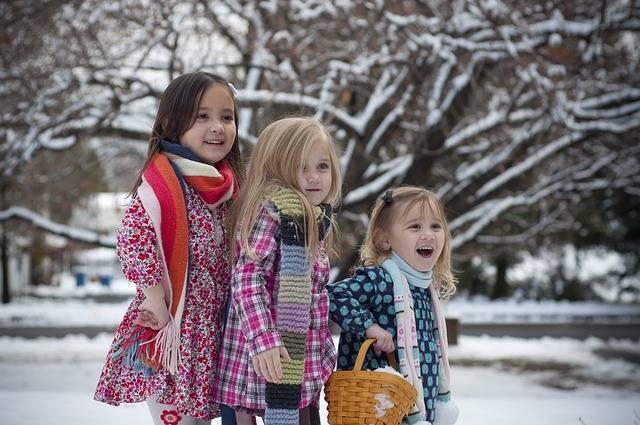Sisters Winter Snow - Free photo on Pixabay (198878)