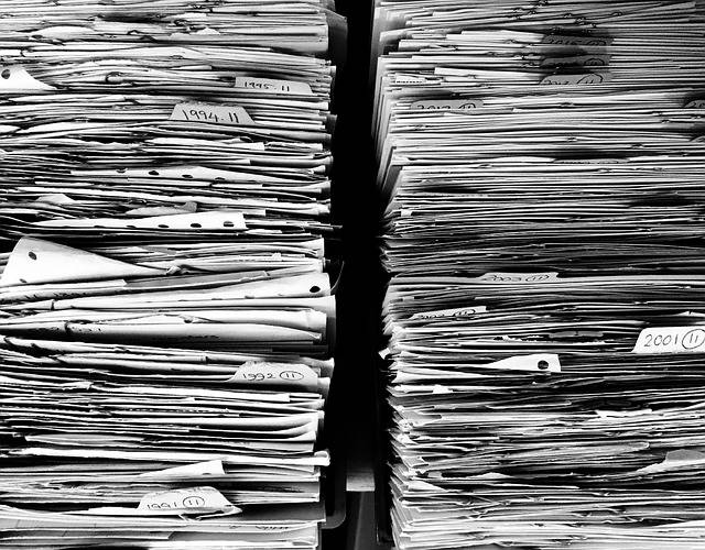 Files Paper Office - Free photo on Pixabay (200325)