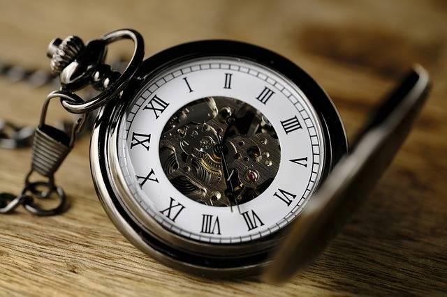 Clock Pocket Watch Movement - Free photo on Pixabay (200580)