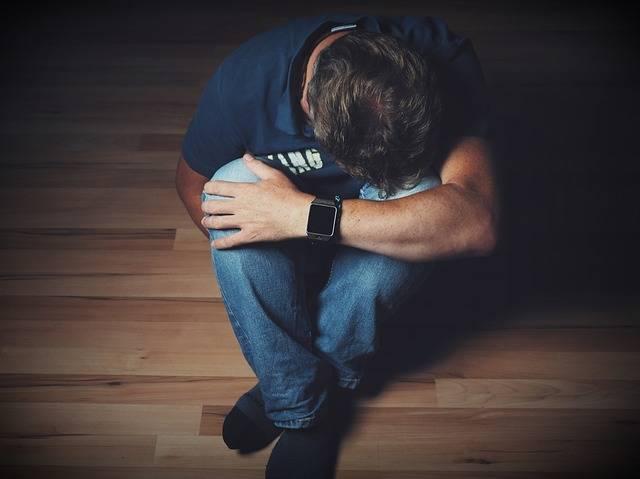 Man Mourning Despair - Free photo on Pixabay (203486)
