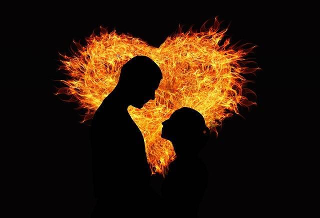 Heart Love Flame - Free image on Pixabay (208724)