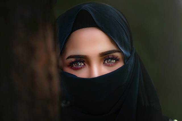 Hijab Headscarf Portrait - Free photo on Pixabay (208730)