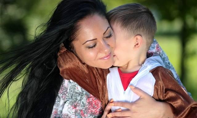 Mom Son Teddy Bear - Free photo on Pixabay (261724)