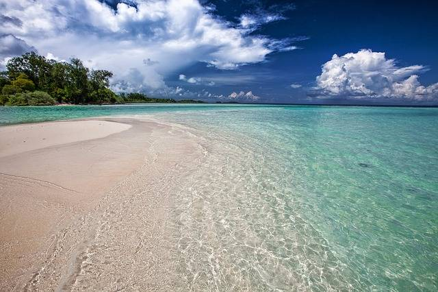 White Sand Beach Ripples Shallow - Free photo on Pixabay (261782)