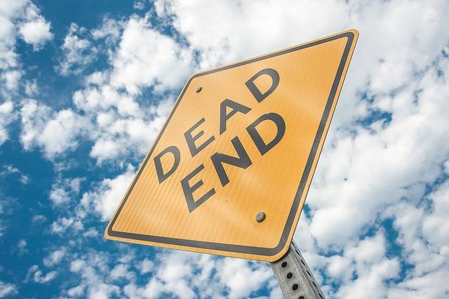Dead End Sign Cul-De-Sac - Free photo on Pixabay (266574)