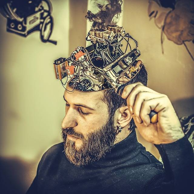Mechanical Brain Man - Free photo on Pixabay (266588)