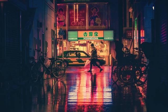 Japan Osaka Night - Free photo on Pixabay (271107)