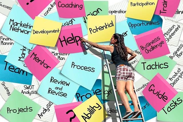 Stickies Post-It List - Free photo on Pixabay (272352)