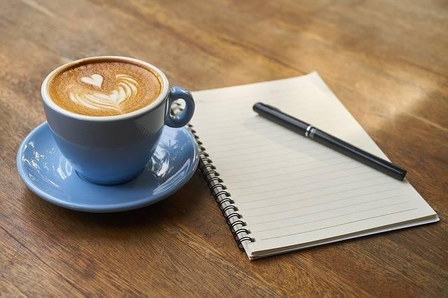 Coffee Pen Notebook - Free photo on Pixabay (272378)