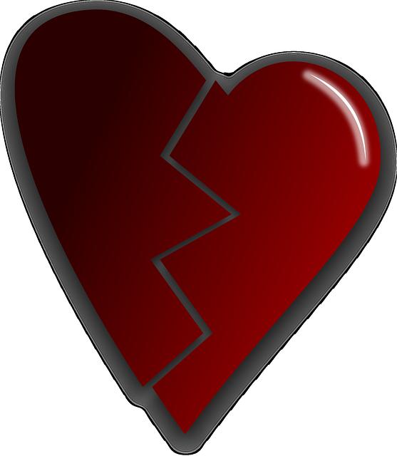 Broken Heart Love - Free vector graphic on Pixabay (273215)