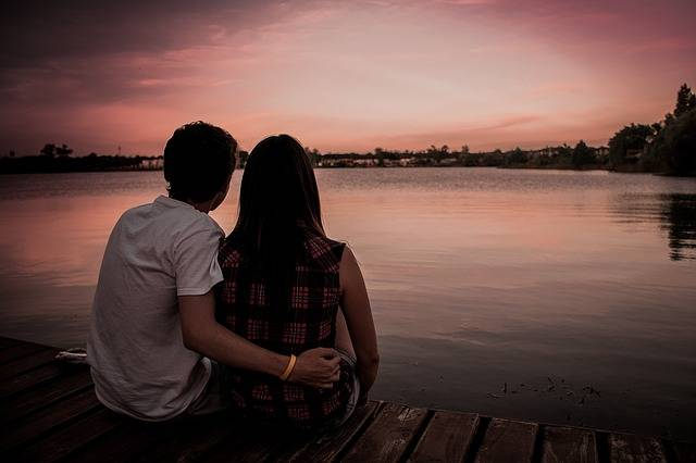 Couple Love Romance Sunset - Free photo on Pixabay (276564)