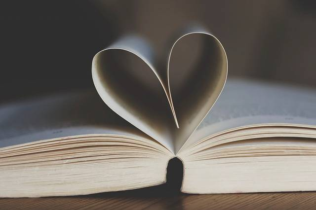 Book Open Pages Heart - Free photo on Pixabay (281432)