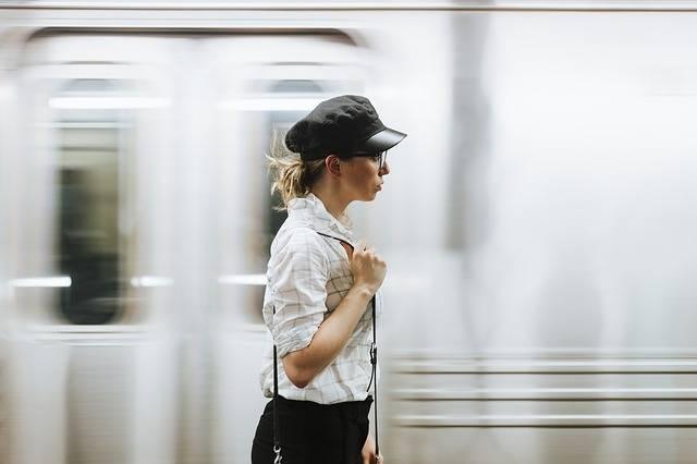 Woman Girl Train - Free photo on Pixabay (281992)
