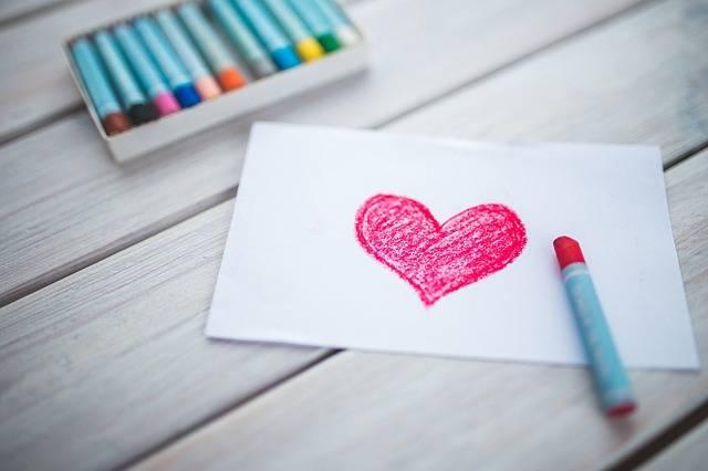 Heart Card Pastels - Free photo on Pixabay (282683)
