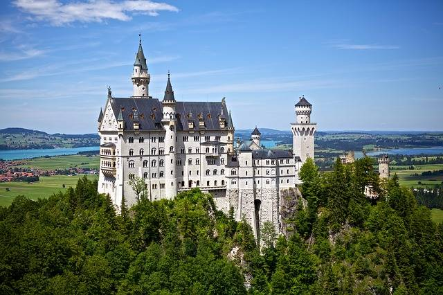 Neuschwanstein Castle Germany - Free photo on Pixabay (290146)