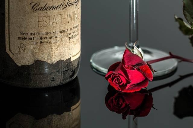 Rose Wine Red - Free photo on Pixabay (292845)