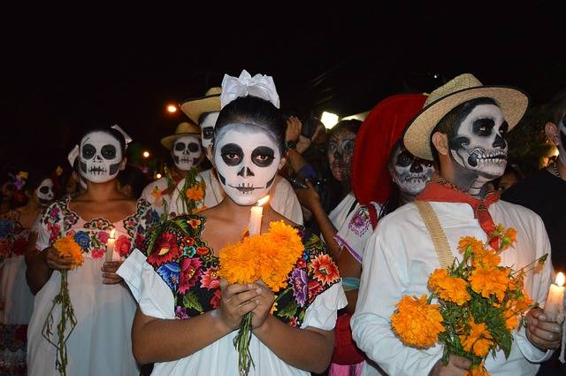 Day Of The Dead Mexico Skull - Free photo on Pixabay (293757)