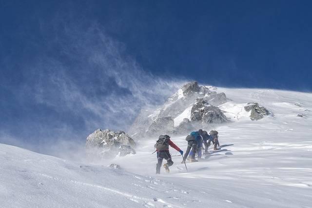 Mountaineering Climbers Storm - Free photo on Pixabay (293881)