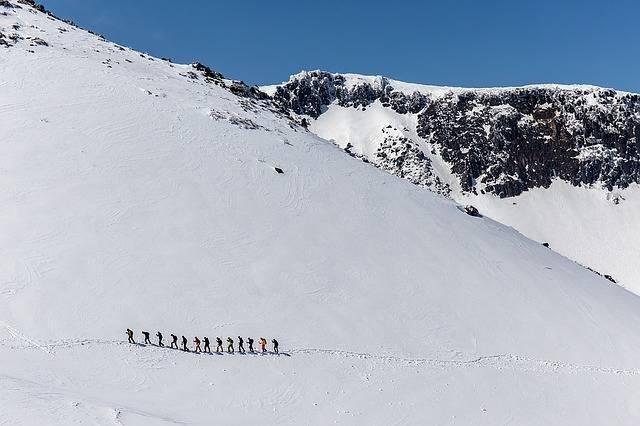 Winter Mountain Climbing - Free photo on Pixabay (294040)