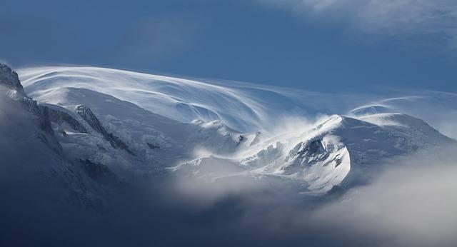Snow Mont Blanc Mountains - Free photo on Pixabay (294417)
