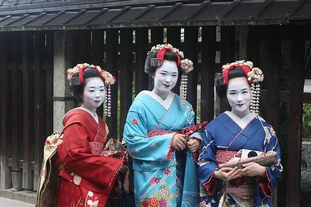 Geisha Girls Kimono - Free photo on Pixabay (296047)