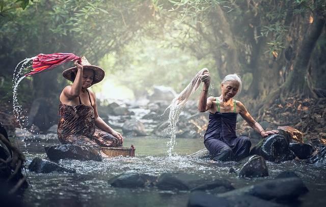River Washing Asia - Free photo on Pixabay (296048)