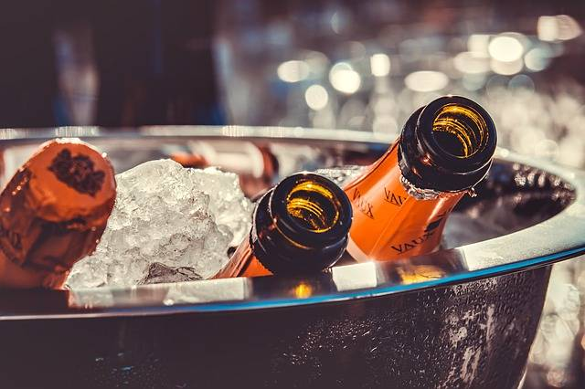 Champagne Bottles Ice - Free photo on Pixabay (301974)