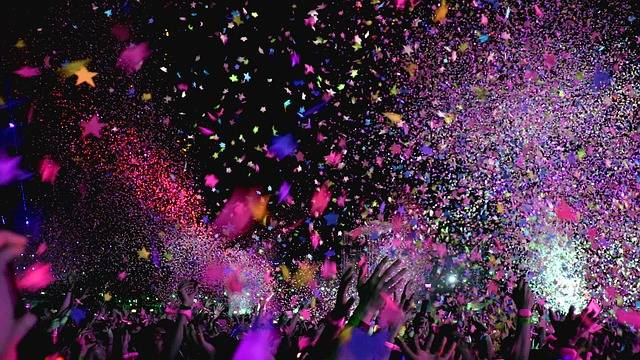 Concert Confetti Party - Free photo on Pixabay (301977)