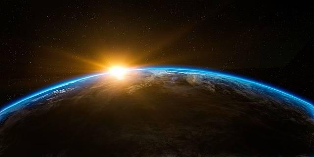 Sunrise Space Outer - Free image on Pixabay (303666)