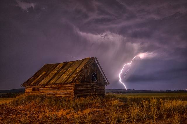 Barn Lightning Bolt - Free photo on Pixabay (311121)