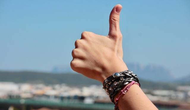 Hands Fingers Positive - Free photo on Pixabay (312546)