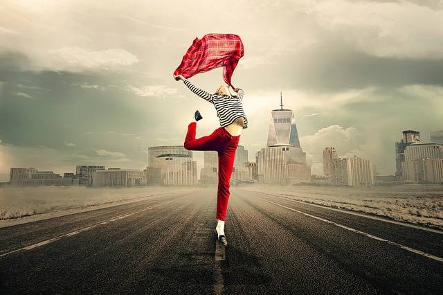 Girl Woman Joy Of Life - Free photo on Pixabay (313291)