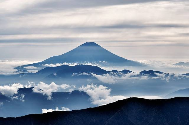 Mt Fuji Volcano Mount - Free photo on Pixabay (329607)