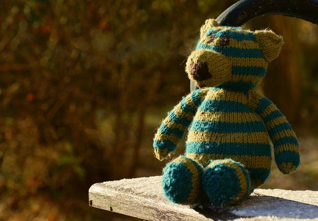 Teddy Bear Knitted - Free photo on Pixabay (330422)
