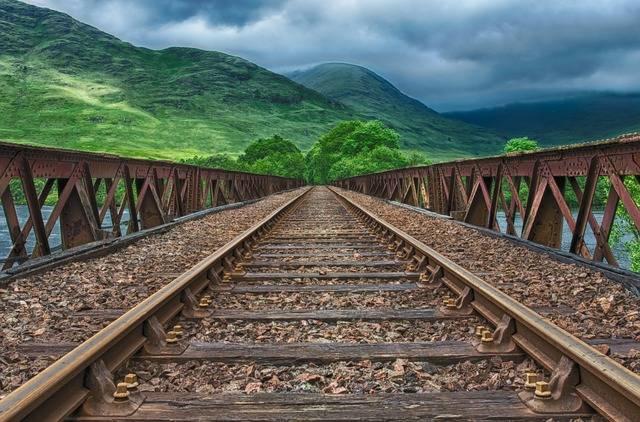 Railway Rails Track - Free photo on Pixabay (335288)
