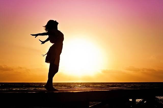Woman Happiness Sunrise - Free photo on Pixabay (336920)