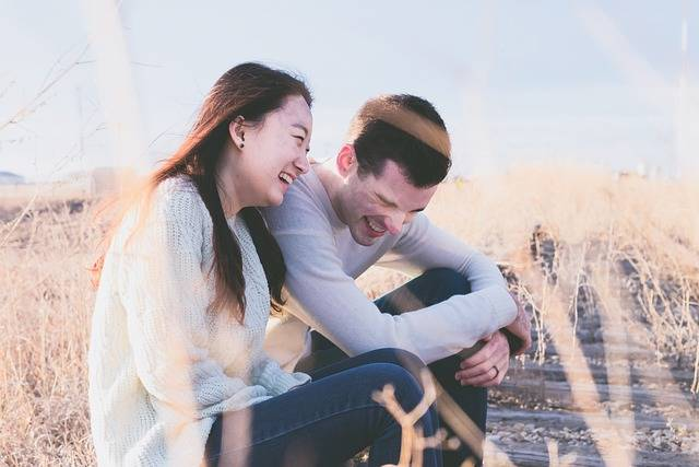 Couple Happy Laughing - Free photo on Pixabay (343704)