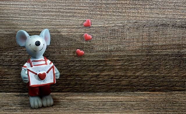 Mouse Figure Love Letter - Free photo on Pixabay (343720)