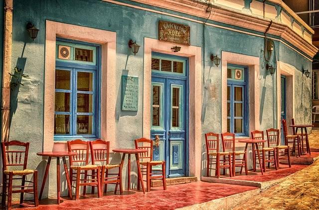 Cafe Architecture Building - Free photo on Pixabay (348093)