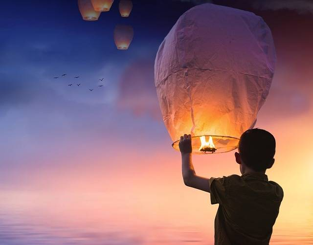 Balloon Chinese Lanterns Lantern - Free photo on Pixabay (348422)