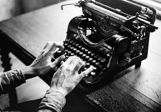 Typewriter Old Alphabet - Free photo on Pixabay (349900)