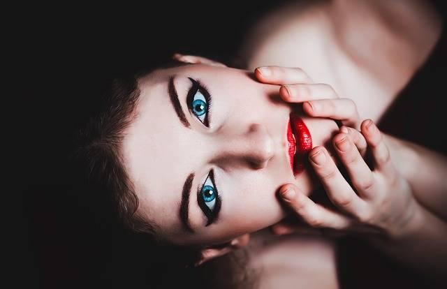 Blue Eyes Woman Female - Free photo on Pixabay (351020)