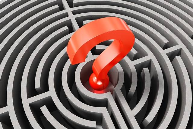 Question Mark Labyrinth Lost - Free image on Pixabay (355926)