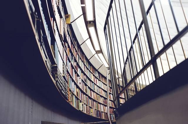 Library Books Bookshelf - Free photo on Pixabay (361606)