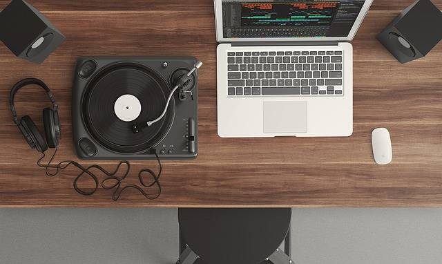 Turntable Top View Audio - Free photo on Pixabay (361625)